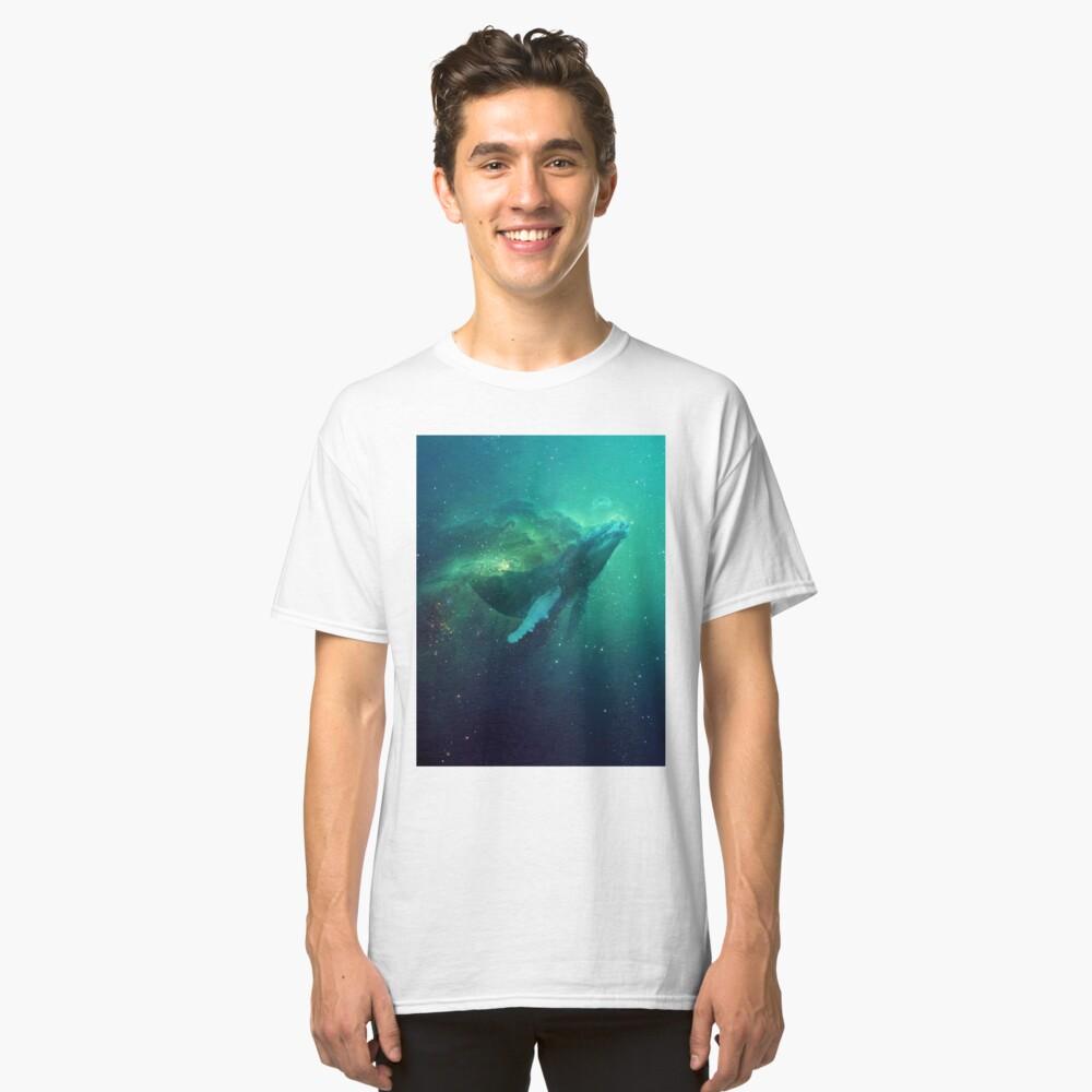 Ballena cósmica Camiseta clásica