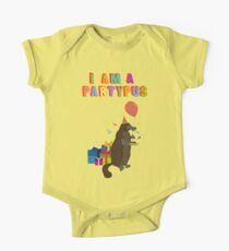 A platypus who loves to party One Piece - Short Sleeve