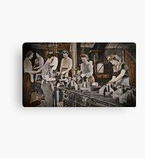 Women Munitions Factory Canvas Print