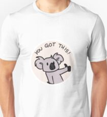 Motivational Koala Unisex T-Shirt