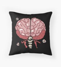 brain of cuthulu form 1 Throw Pillow