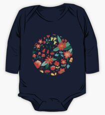 Cute flowers for Valentines Day One Piece - Long Sleeve