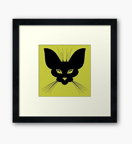 I am Night Framed Print