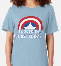 Den ganzen Tag Slim Fit T-Shirt