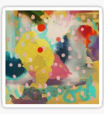 Abstract Art Chaos Contemporary Modern Art Sticker