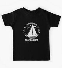 Prestige Worldwide Presents Boats & Hoes Kids Tee