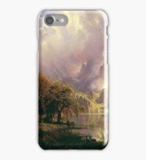 Albert Bierstadt - Rocky Mountain Landscape 1870 American Landscape iPhone Case/Skin