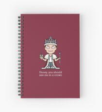 Jim Moriarty (card/notebook/phone) Spiral Notebook