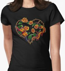 Rodimus & Roses Women's Fitted T-Shirt
