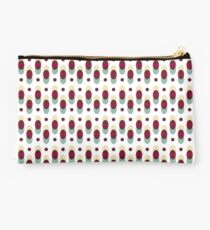 Geometric retro patterns Studio Pouch