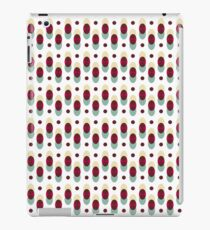Geometric retro patterns iPad Case/Skin