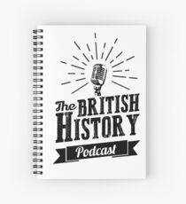 The British History Podcast Retro style Spiral Notebook