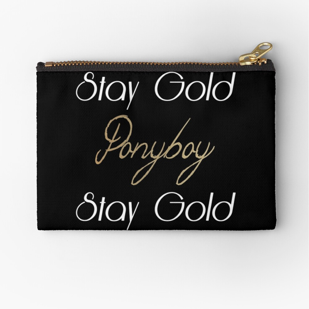 The Outsiders Zipper Pouch