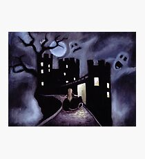 Once Upon a Haunted Fairy Tale Photographic Print