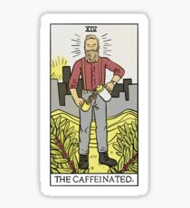Modern Tarot - The Caffeinated Sticker