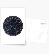 Blue Star Astrology Postcards