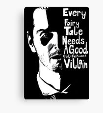 Good old fashioned villian Canvas Print