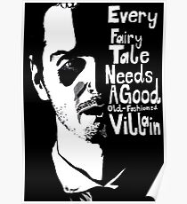 Good old fashioned villian Poster