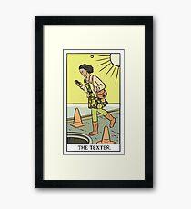 Modern Tarot - The Texter Framed Print