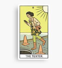 Modern Tarot - The Texter Canvas Print