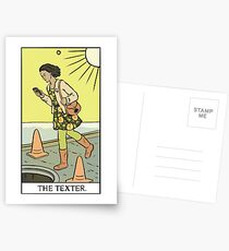 Modern Tarot - The Texter Postcards