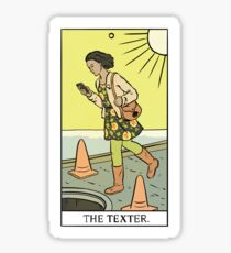 Modern Tarot - The Texter Sticker