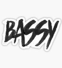 Marc E. Bassy Sticker