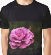 Old Fashioned Rose Graphic T-Shirt
