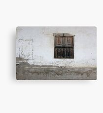 Shuttered Window Canvas Print