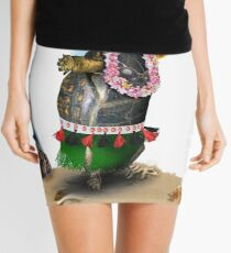 Turtle Hula Dancing on the Beach Mini Skirt