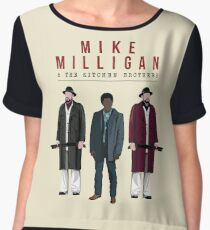 Mike Milligan & The Kitchen Brothers! FARGO Chiffon Top