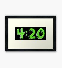 420 matrix Framed Print