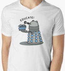 EDUCATE! Men's V-Neck T-Shirt