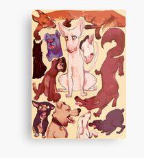 Dog Box Metal Print