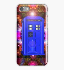 TARDIS IN THE EYE OF ORION 1 iPhone Case/Skin