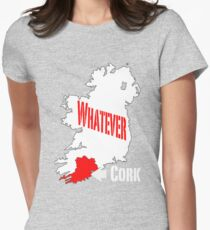 Cork... Whatever... Womens Fitted T-Shirt