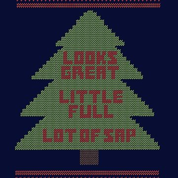 Christmas Vacation Ugly Sweater by d3mentia
