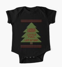 Christmas Vacation Ugly Sweater One Piece - Short Sleeve
