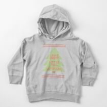 Christmas Vacation Ugly Sweater Toddler Pullover Hoodie
