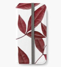nandina scanogram iPhone Wallet/Case/Skin