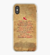 Somewhere in Neverland iPhone Case