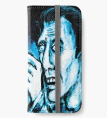 The Black cat reveals the gallows iPhone Wallet/Case/Skin