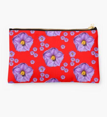 Purple Wildflower Studio Pouch