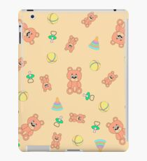 Seamless pattern with toys iPad Case/Skin