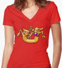 Celebrate! Women's Fitted V-Neck T-Shirt