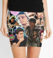 Dylan O'Brien Collage Mini Skirt