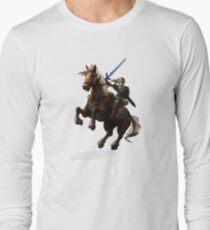Legend Of Zelda Advanture Link Long Sleeve T-Shirt