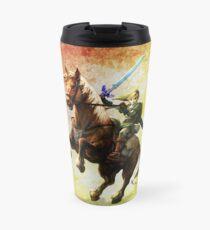 Legend Of Zelda Advanture Link Travel Mug