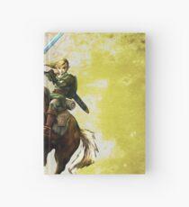 Legend Of Zelda Advanture Link Hardcover Journal