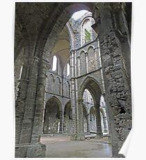 Abbaye de Villers, Central Wallonia, Belgium Poster